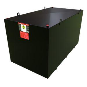 10,000 litre steel bunded waste oil tank - Atlantis