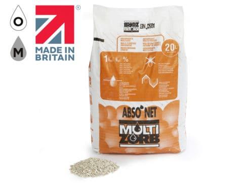 Abso'net Super White Multizorb Granules 20L Bag (Pallet x70 bags)