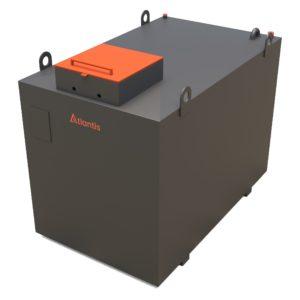 2000 Litre Steel Bunded Diesel Generator Feed Tank