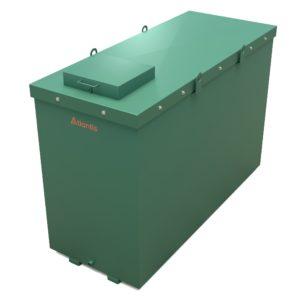 1350 Litre Fireproof steel oil tank